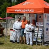 Roadshow ADHR - České Budějovice MČR v požárním sportu - foto s hasiči ve starší uniformě