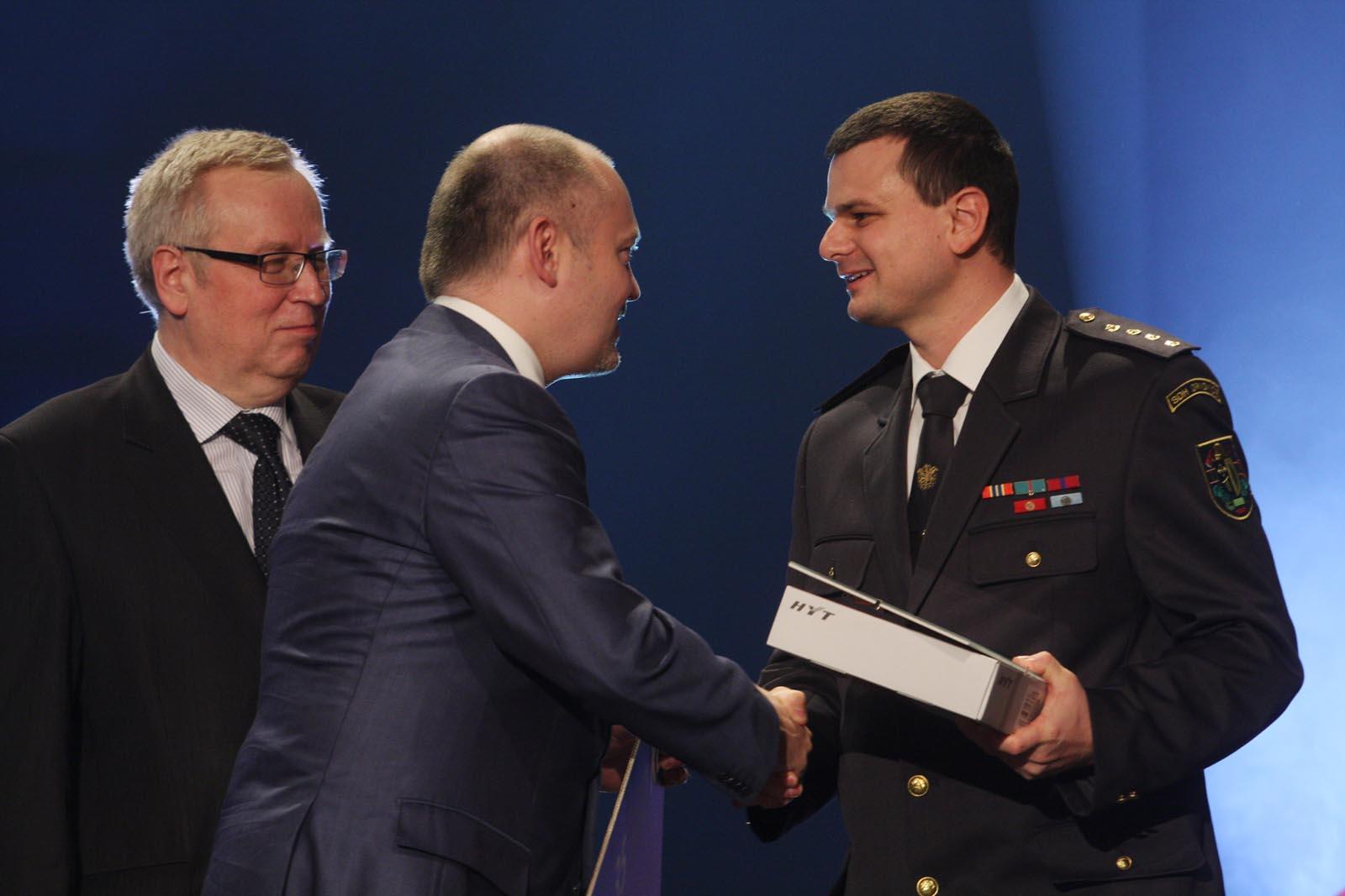 2. místo SDH Drnovice - vyhlášení výsledků ankety Dobrovolní hasiči roku 2014