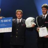 1. místo SDH Klatovy - ocenění - vyhlášení výsledků ankety Dobrovolní hasiči roku 2014