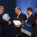1. místo SDH Stará Říše - vyhlášení výsledků ankety Dobrovolní hasiči roku 2014