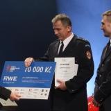 1.místo JSDH Mohelnice - vyhlášení výsledků ankety Dobrovolní hasiči roku 2014