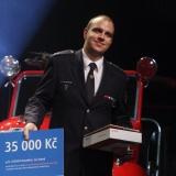 2. místo JSDH Kostelec na Hané - vyhlášení výsledků ankety Dobrovolní hasiči roku 2014