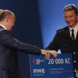 3. místo SDH Žabčice - vyhlášení výsledků ankety Dobrovolní hasiči roku 2014