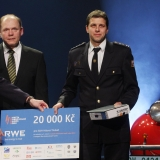 3. místo SDH Hlásná Třebáň - vyhlášení výsledků ankety Dobrovolní hasiči roku 2014