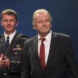 ocenění pana Karla Vaška řádem Tituse Kršky z rukou MHJ - vyhlášení výsledků ankety Dobrovolní hasiči roku 2014