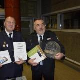 ocenění za 1. místo JSDH - vyhlášení výsledků ankety Dobrovolní hasiči roku 2014