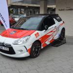 Zapůjčené vozidlo BRNOCAR - tisková konference ADHR