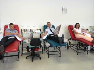 ADHR akce daruj krev s ceskym rozhlasem - vlastni odber