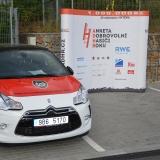 Roadshow ADHR - MČR v požárním sportu mládeže Brno - vozidlo a banner