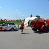 Roadshow ADHR - Svitavy - MS v PS juniorů a dorostu - vozidlo Praga a DS3