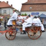 Roadshow ADHR - SDH Velvary 150 let - povoz s koňmi zadní část