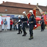 Roadshow ADHR - SDH Velvary 150 let - průvod vlajkonoši