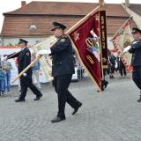 Roadshow ADHR - SDH Velvary 150 let - průvod vlajky HZS