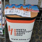 Roadshow ADHR - SDH Velvary 150 let - reklamni letacky