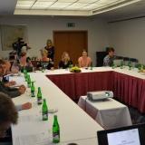 Tisková konference ADHR - poslední přípravy