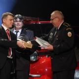 1. místo JSDH Úvaly -  vyhlášení výsledků ankety Dobrovolní hasiči roku 2014