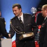 1. místo SDH Frenštát pod Radhoštěm - vyhlášení výsledků ankety Dobrovolní hasiči roku 2014
