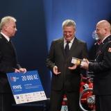 3. místo JSDH Vítkov - vyhlášení výsledků ankety Dobrovolní hasiči roku 2014