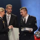 3. místo SDH Doubrava - vyhlášení výsledků ankety Dobrovolní hasiči roku 2014