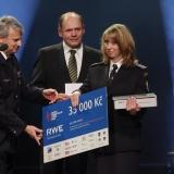 2. místo SDH Unčín - vyhlášení výsledků ankety Dobrovolní hasiči roku 2014